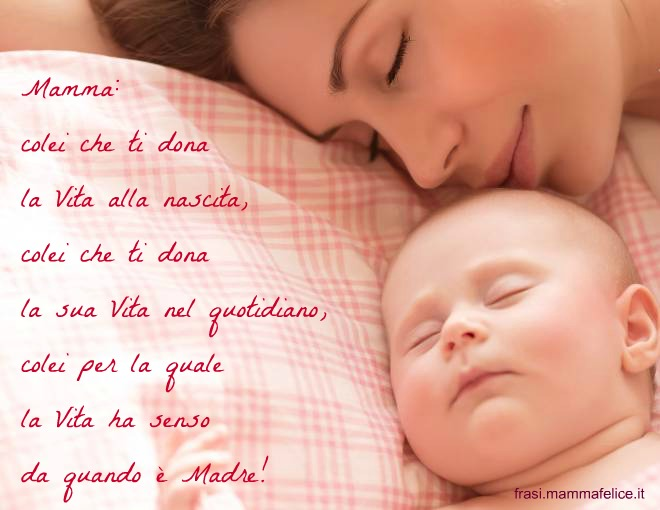 abbastanza frase-dedicata-alla-mamma-che-dona-la-vita EK11