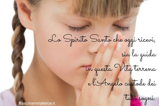 Preferenza Lo Spirito Santo sia guida di vita | Frasi Mammafelice CE01