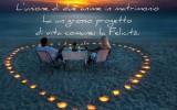Frase Matrimonio: il progetto di vita è la felicità