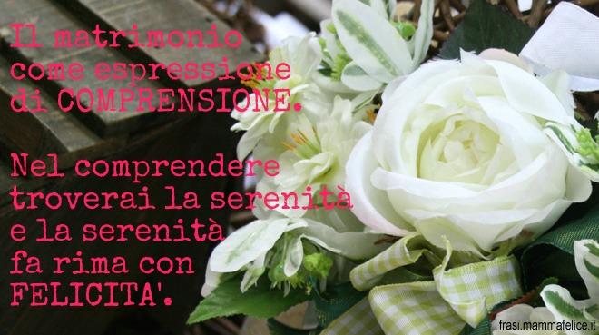 Auguri Matrimonio In Rima : Frasi per il matrimonio espressione di comprensione