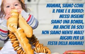 festa-della-mamma-cartolina-auguri-dolcissima-divertente-siamo-come-pane-burro