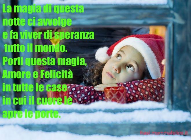 La Magia Del Natale Frasi.Frase Auguri Per Natale Magia In Tutto Il Mondo Frasi