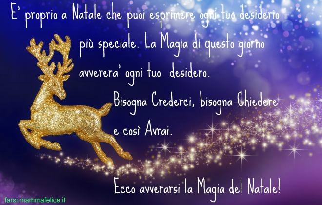 La Magia Del Natale Frasi.Frasi Di Auguri La Magia Del Natale Frasi Mammafelice