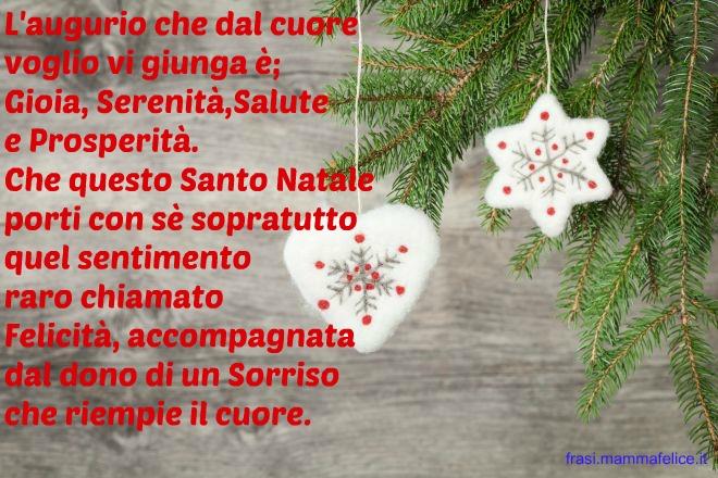 Frasi X Natale Auguri.Frase Per Il Natale Gioia Serenita E Salute Frasi
