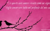 cartolina poesia d'amore