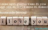 Frase d'amore: Come ogni giorno