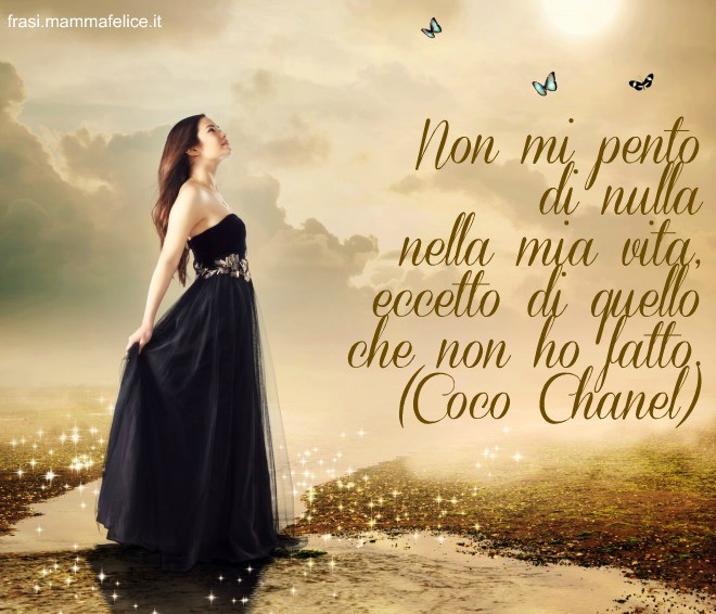 Preferenza Frasi famose di Coco Chanel | Frasi Mammafelice FN68
