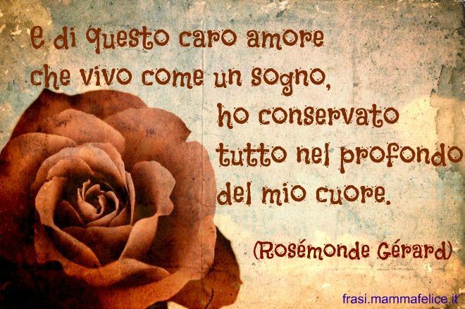 Préférence Poesia d'amore famosa: Ti amo più di ieri, meno di domani | Frasi  LW09