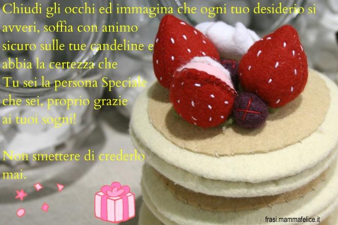 Frase Auguri Di Compleanno Non Smettere Di Credere Nei Sogni