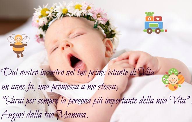 Primo Compleanno Da Mamma Auguri.Frasi Per Compleanno 1 Anno Bimba