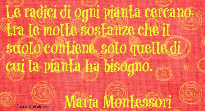 Estremamente Frasi famose di Maria Montessori | Frasi Mammafelice EL74