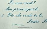 Frasi e preghiere famose di Padre Pio