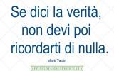 Frasi famose di Mark Twain: La verità