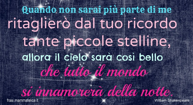 Connu Frasi per San Valentino: William Shakespeare | Frasi Mammafelice SL29