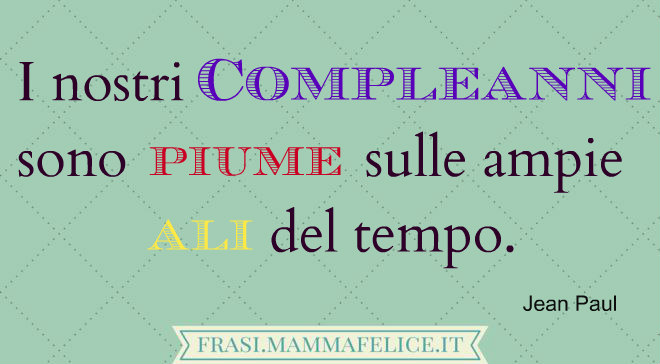 Top 10 frasi famose sul compleanno | Frasi Mammafelice LF26