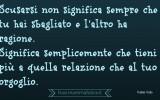 Frasi famose Fabio Volo: Scusarsi